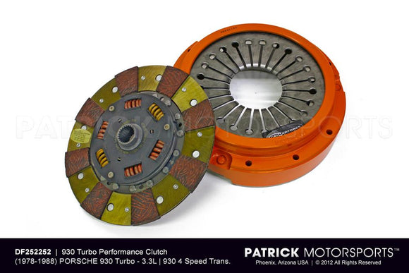 Centerforce Clutch Kit - Porsche 930 Turbo / 3.3L / 930 4 Speed Transmission - 240mm CLU DF252252 / CLU DF252252 / CLU-DF252252 / CLU.DF252252 / CLUDF252252