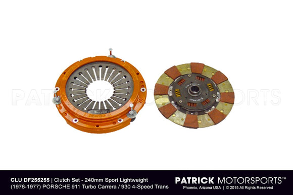 Porsche 930 / 911 Turbo Carrera G50 SBH Transmission Centerforce Clutch Kit CLU DF255255 / CLU DF255255 / CLU-DF255255 / CLU.DF255255 / CLUDF255255