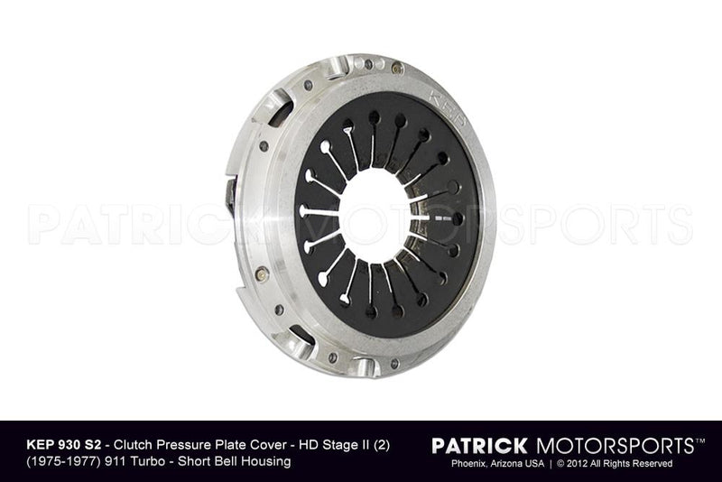 PORSCHE 911 TURBO EARLY CLUTCH PRESSURE PLATE KEP STAGE 2- CLUKEP930S2
