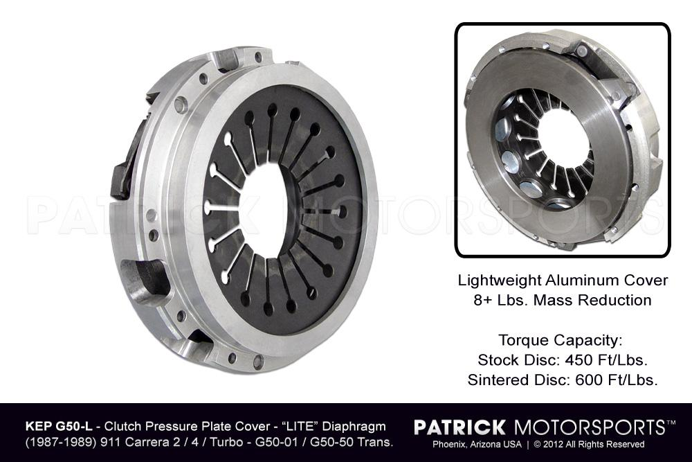 CLU KEP G50 L: CLUTCH PRESSURE PLATE - 240MM - G50 / G50-50 - SPORT / HD LIGHT DIAPHRAGM