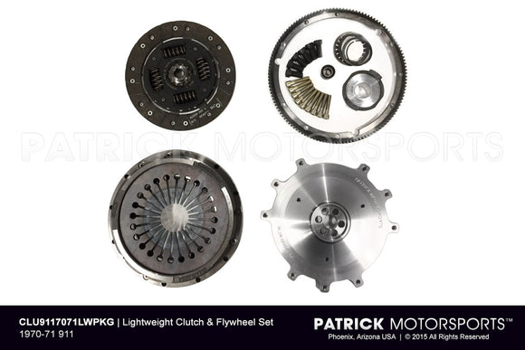 1970-71 PORSCHE 911 LIGHTWEIGHT FLYWHEEL & CLUTCH PACKAGE- CLU9117071LWPKG