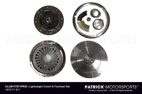 1970-1971 Porsche 911 Transmission Flywheel and Clutch Package PKG CLU 911 7071 PMS /   CLU 911 7071 PKG / CLU-911-7071-PKG / CLU.911.7071.PKG / CLU9117071PKG