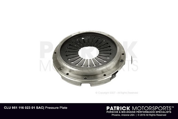 CLUTCH PRESSURE PLATE COVER PORSCHE 944 TURBO- CLU95111602301SAC