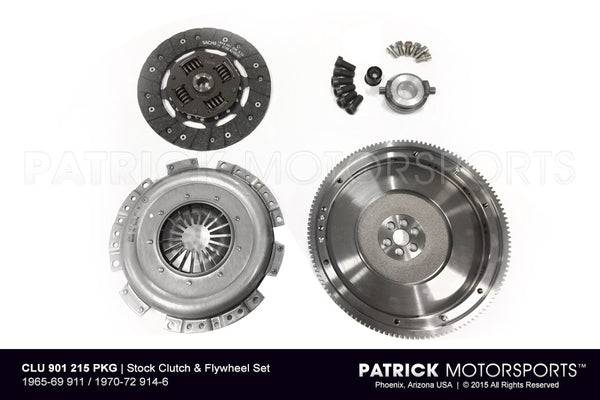 Porsche 911 901 Transmission O.E. Flywheel & Clutch Package(PKG FC 901 215 OE PMS)