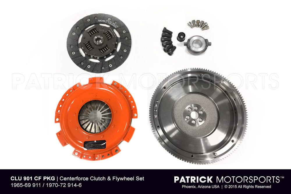 CLU 901 CF PKG: CENTERFORCE CLUTCH & FLYWHEEL SET - 1965-69 911 / 1970-72 914-6