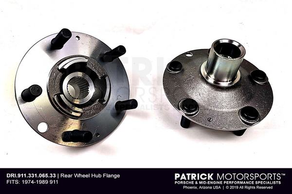Rear Wheel Hub - Left OR Right - Porsche 911 (DRI 911 331 065 33)