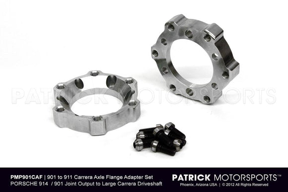 REAR AXLE JOINT CV FLANGE ADAPTER SET - PORSCHE 901 / 914 TRANSMISSION- DRI914332209PMS