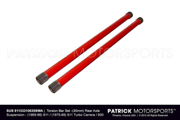 Porsche 911 / 930 Torsion Bar Set 30mm / Rear Axle Suspension SUS 911 333 100 30 SWA / SUS 91133310030SWA / SUS-91133310030SWA / SUS.91133310030SWA / SUS91133310030SWA