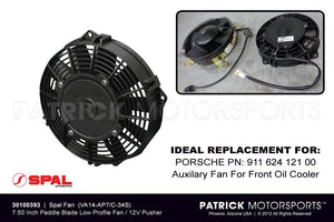 SPAL ELECTRIC FAN 7.50 INCH LOW PROFILE PUSHER- ELE30100393