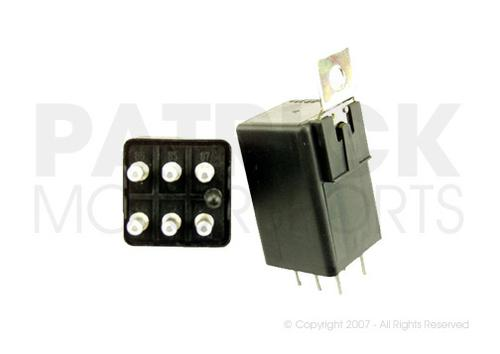 ELE 911 618 154 01 WIT: RELAY - SWITCH UNIT - ENGINE ELECTRICAL - DME / FUEL PUMP