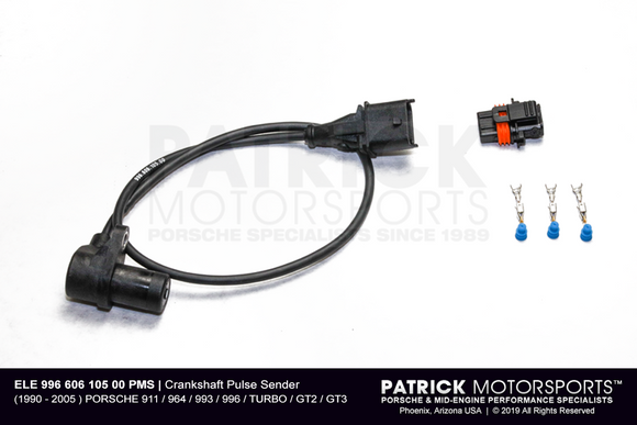 Crankshaft Pulse Sender / Reference Sensor With Harness Upgrade Kit (ELE 996 606 105 00 CPSRS PMS)