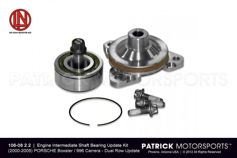 IMS UPDATE KIT (INTERMEDIATE SHAFT BEARING) - SINGLE ROW PRO UPDATE TO DUAL ROW - (2000-2005) PORSCHE 996 / BOXSTER- ENG1060822