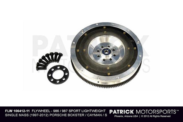 Porsche 986 / 987 Sport Spec Single-Mass Lightweight 240mm Flywheel FLW 106412 11 / FLW 106412 11 / FLW-106412-11 / FLW.106412.11 / FLW10641211