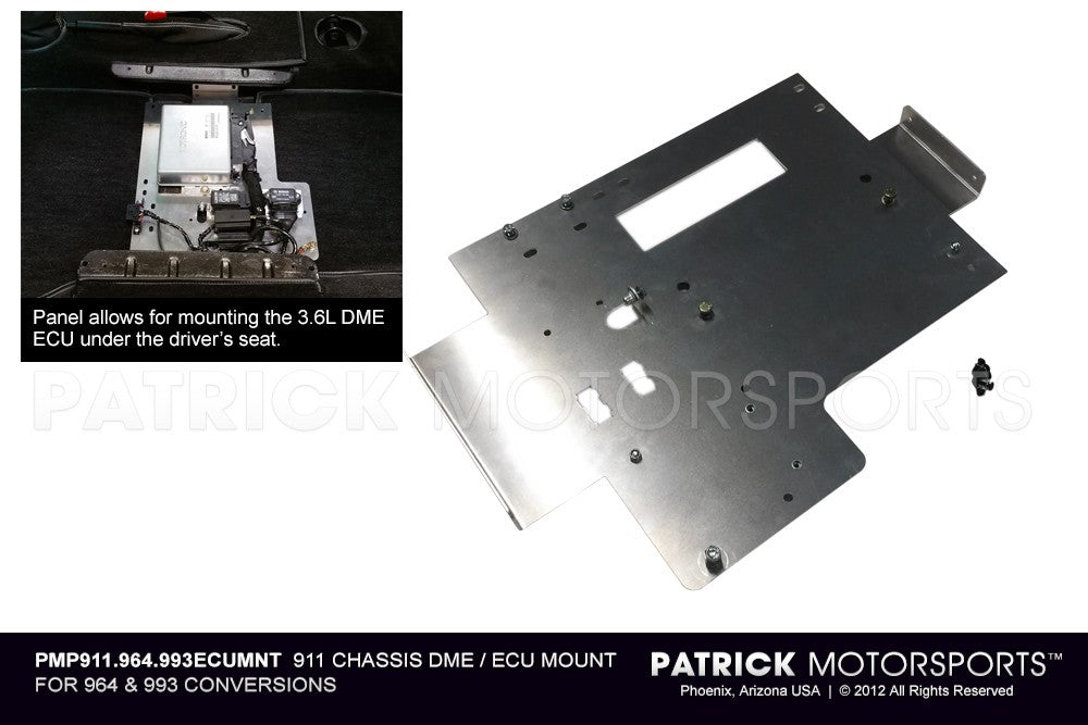 PMP 911 964 993 ECUMNT: 911 CHASSIS DME / ECU MOUNT FOR 964 & 993 CONVERSIONS
