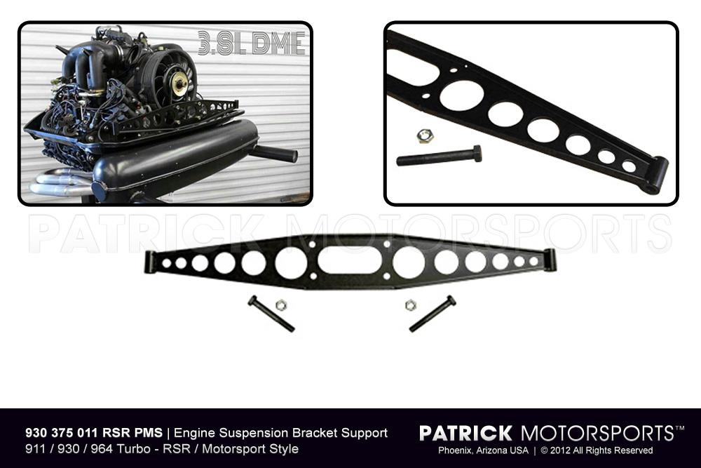 ENG 930 375 011 RSR PMS: ENGINE SUSPENSION BRACKET SUPPORT (CROSS MEMBER) - RSR STYLE 911 / 930 / 965