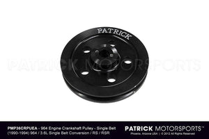 ENG 964 102 050 SBC PMS: ENGINE CRANK PULLEY - 964 SINGLE BELT CRANK RS / RSR TYPE