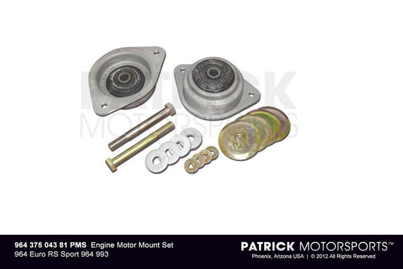 ENGINE MOTOR MOUNT SET 964 EURO RS SPORT 964 993- ENG96437504381PMS
