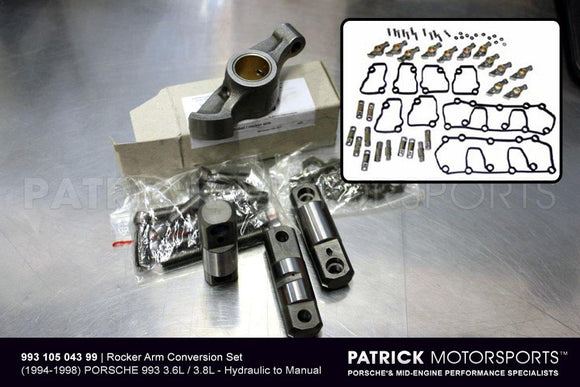993 ENGINE SOLID ROCKER ARM VALVE CONTROL CONVERSION- ENG99310504399