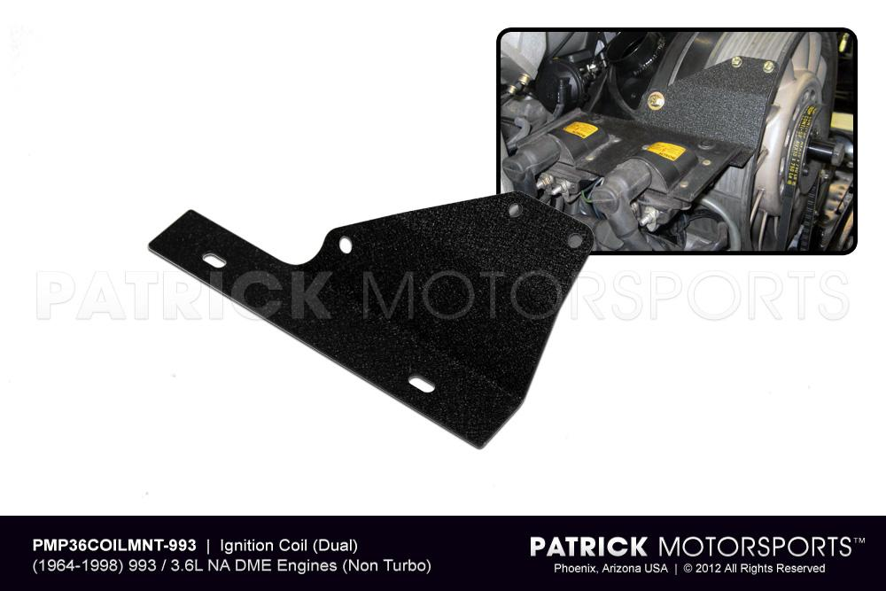 ENG 993 602 CAM PMP: IGNITION COIL MOUNT ADAPTER (DUAL) - 993 CARRERA 3.6L DME ENGINES