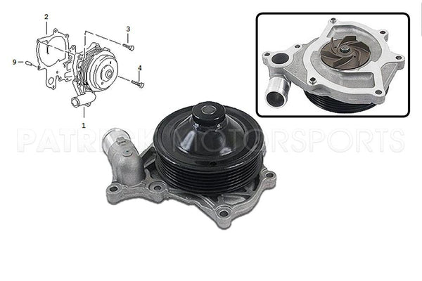 ENGINE COOLING WATER PUMP- ENG99610601157