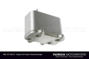 ENG 996 107 025 57: 986 996 ENGINE OIL COOLER HEAT EXCHANGER