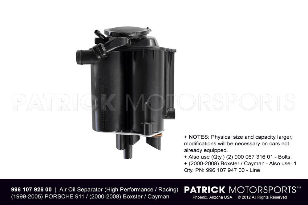 ENG 996 107 926 00: AIR OIL SEPARATOR (HIGH PERFORMANCE / RACING VERSION)