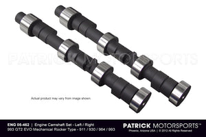 ENG 05 462: ENGINE CAMSHAFT SET - 993 GT2 EVO MECHANICAL ROCKER TYPE