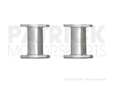 EXH P914 6 SA: MUFFLER STREET ADAPTER SET - 914-6 FROM COLLECTOR FLANGE TO STOCK MUFFLER FLANGE