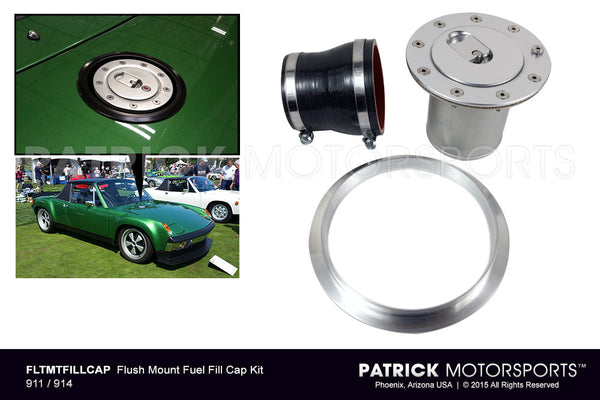 Flush Mount Fuel Filler Cap Kit For 914 FUE FLT MT FILL CAP PMS / FLTMTFILLCAP / FLTMTFILLCAP / FLTMTFILLCAP / FLTMTFILLCAP