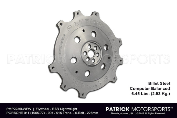 Porsche 911 RS and RSR 915 and 901 Transmissions 6 Bolt 225mm Flywheel FLW 225 6 LW PMS / FLW 225 6 LW PMS / FLW-225-6-LW-PMS / FLW.225.6.LW.PMS / FLW2256LWPMS / FLW 2256LWFW PMP / FLW-2256LWFW-PMP / FLW.2256LWFW.PMP / FLW2256LWFWPMP
