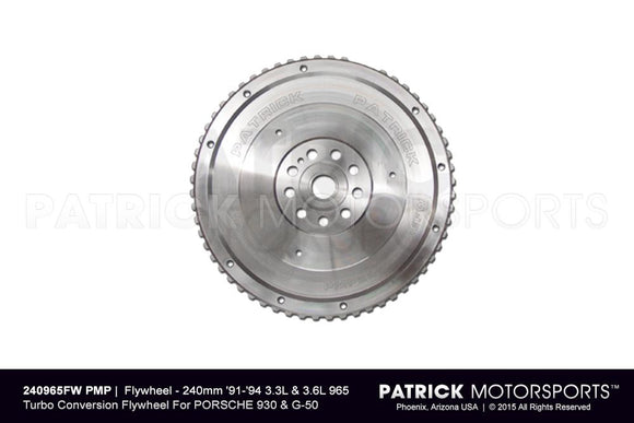 FLYWHEEL - 240MM 1991-1994 3.3L & 3.6L 965 TURBO CONVERSION- FLW240965FWPMP