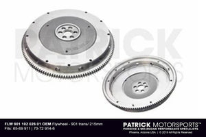 FLW 901 102 026 01 OEM: FLYWHEEL PORSCHE 901 6 BOLT 215MM 911 914