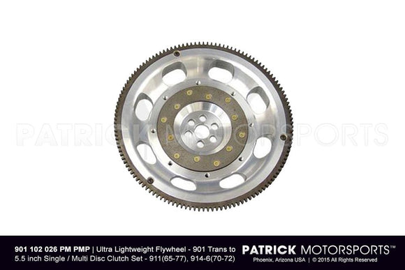 LIGHTWEIGHT FLYWHEEL 901 5.50 INCH CLUTCH- FLW901102026PMPMP