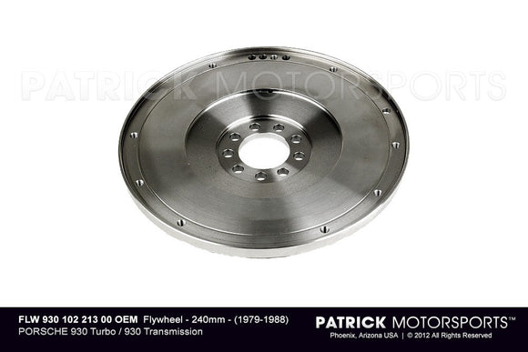 Porsche 930 Turbo 930 Transmission 240mm Flywheel FLW 930 102 213 00 / FLW 930 102 213 00 / 930-102-213-00 / 930.102.213.00 / FLW93010221300 / 93010221300