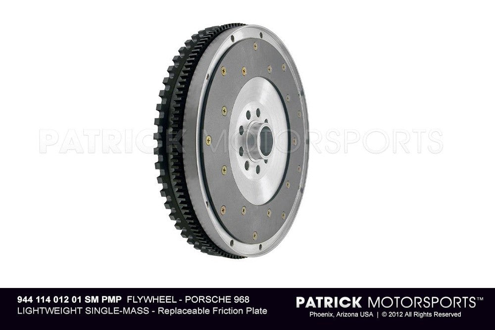 FLW 944 114 012 01 SM PMP: LIGHTWEIGHT SINGLE-MASS FLYWHEEL - PORSCHE 968