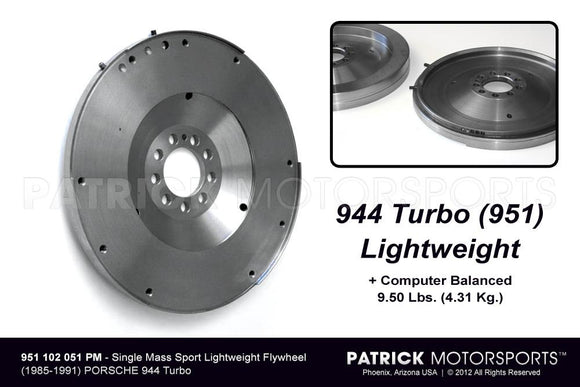 FLYWHEEL LIGHTWEIGHT PORSCHE 944 TURBO- FLW951102051PM