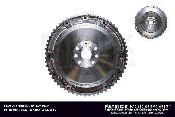 Single-Mass Lightweight Flywheel - Porsche 964 / 993 / 996 / 997 Turbo - Euro RS / RSR / GT3 / GT2 (FLW 964 102 239 81 LW PMP)