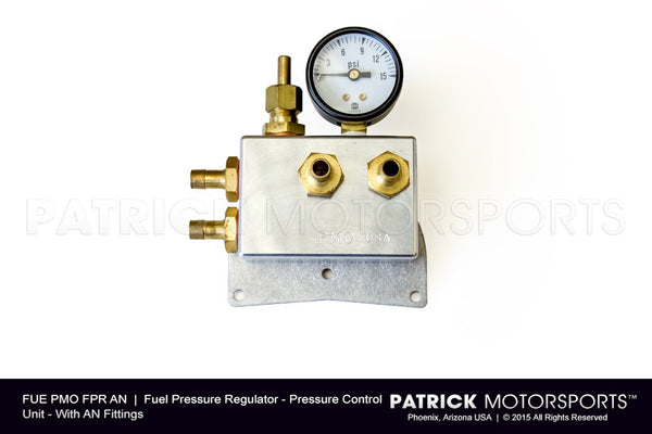 Fuel Pressure Regulator - PMO - AN Fittings FUE PMO FPR AN / FUE PMO FPR AN / FUE-PMO-FPR-AN / FUE.PMO.FPR.AN / FUEPMOFPRAN