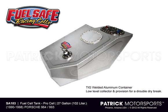 FUEL CELL TANK 27 GALLON - PORSCHE 911 / 964 & 993 FUEL SAFE- FUESA103