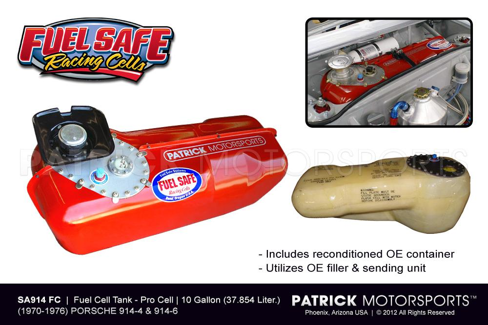 FUE SA914FC: PORSCHE 914 FUEL CELL TANK - 10 GALLON