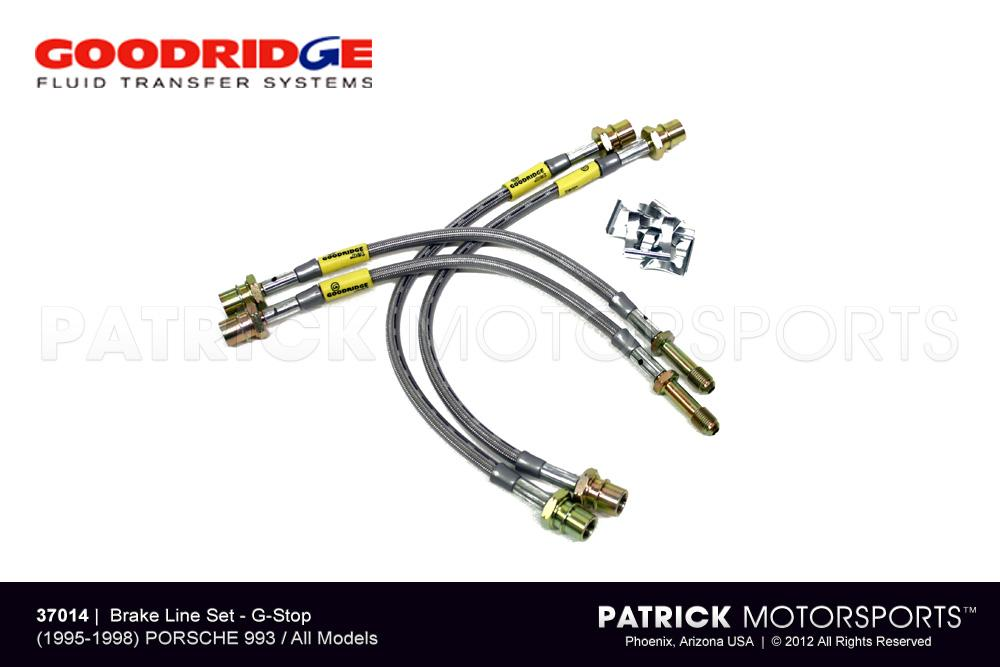 BRA 37014: BRAKE LINE SET - (1995-1998) PORSCHE 993 / 993 TURBO