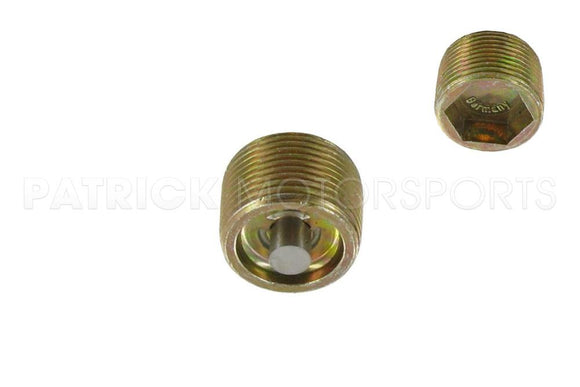TRANSMISSION & DIFFERENTIAL DRAIN / FILL PLUG WITH MAGNET - M22 TAPERED THREAD- HAR99906402002OEM