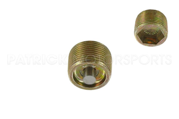 Transmission And Differential Magnetic Drain Plug / Fill Plug For Porsche 356 / 901 / 911 / 912 / 914 / 915 / 930 Turbo - M22 Tapered Thread HAR 999 064 020 02 / HAR 999 064 020 02 / HAR-999-064-020-02 / HAR.999.064.020.02 / HAR99906402002
