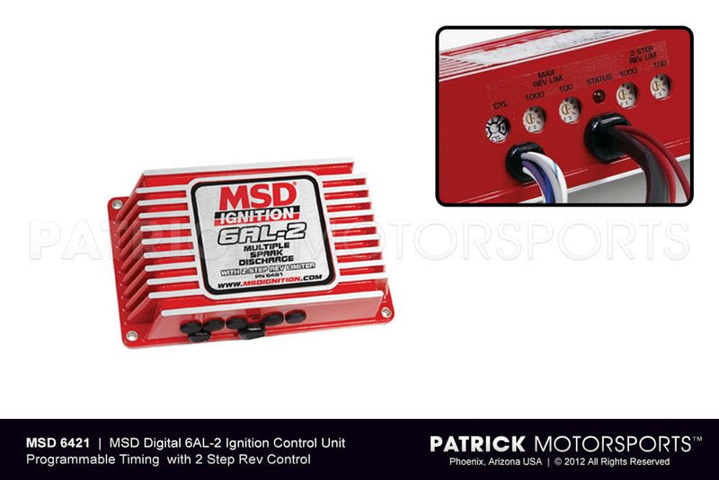 MSD Digital 6Al-2 Ignition Control IGN MSD 6421 / IGN MSD 6421 / IGN-MSD-6421 / IGN.MSD.6421 / IGNMSD6421