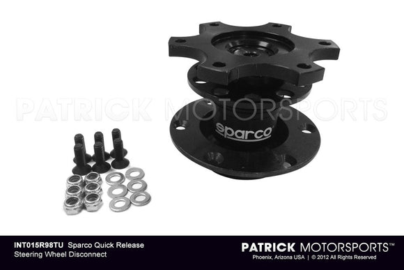 SPARCO QUICK RELEASE STEERING WHEEL DISCONNECT- INT015R98TU