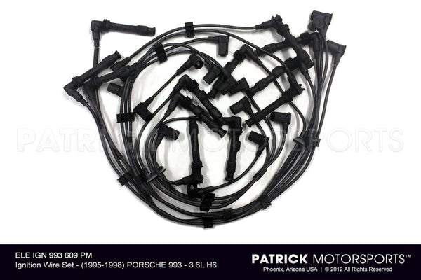 IGNITION WIRE SET - (1995-1998) PORSCHE 993 - 3.6L H6- ELEIGN993609PM