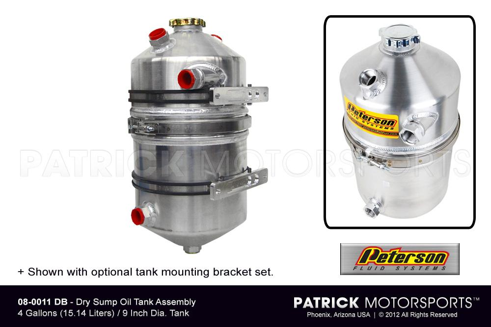 OIL 08 0011 DB: DRY SUMP OIL TANK ASSEMBLY - 4 GALLON