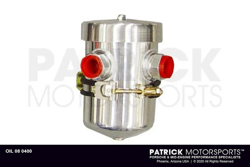 Oil Breather Ventilation Catch Tank - 4.65 Inch (118mm) O.D (OIL 08 0400)