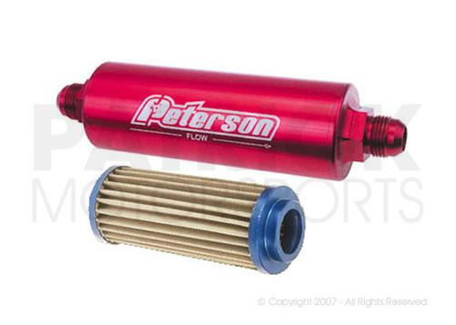 In-Line Filter - AN-12 Male Inlet / Outlet - 60 Micron OIL 09 0452 / OIL 09 0452 / OIL-09-0452 / OIL.09.0452 / OIL090452