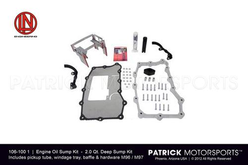 Porsche 996 / 986 Engine Oil Sump Kit with extra 2.0 Qt. Deep Sump Extension ENG 106 00 1 / ENG 106 00 1 / ENG-106-00-1 / ENG.106.00.1 / ENG106001